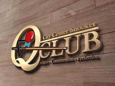 Mokeup Design for a snooker club in Mansehra, Pakistan!