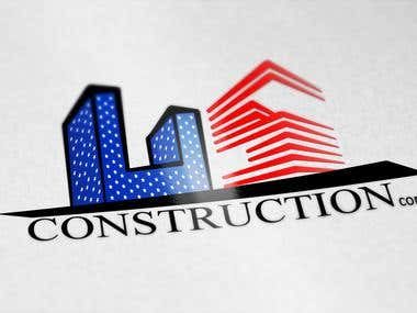 Made an creative logo and flyer design for US construction company.