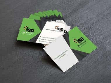professional Business card design  Creative Business card design