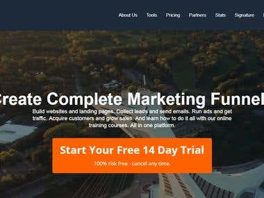 This is a CodeIgnitor Based All in One Marketing Platform project