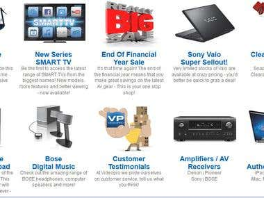 Worked for a very popular electronics online store.