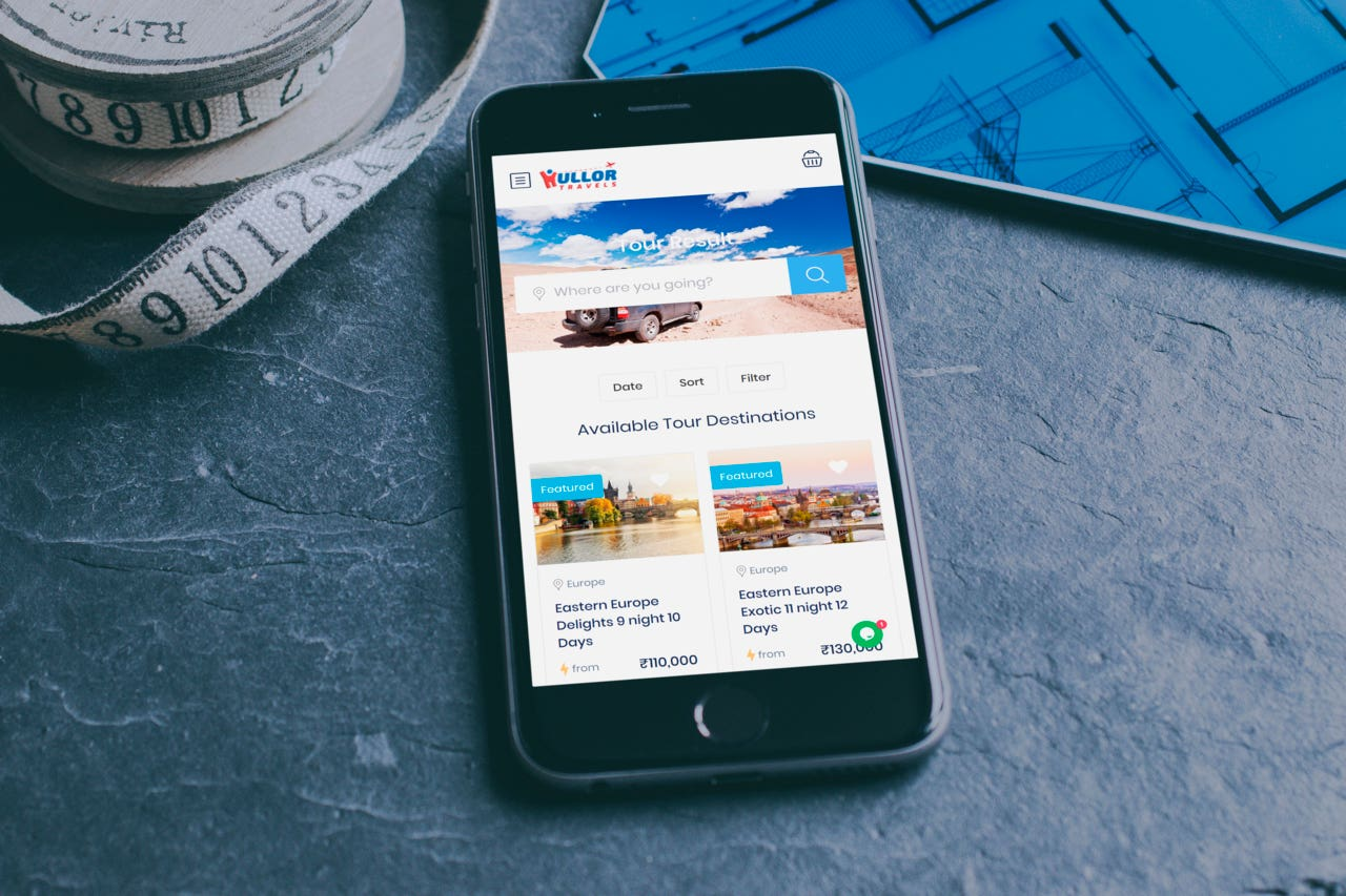 Travel App - Hullortravel.com