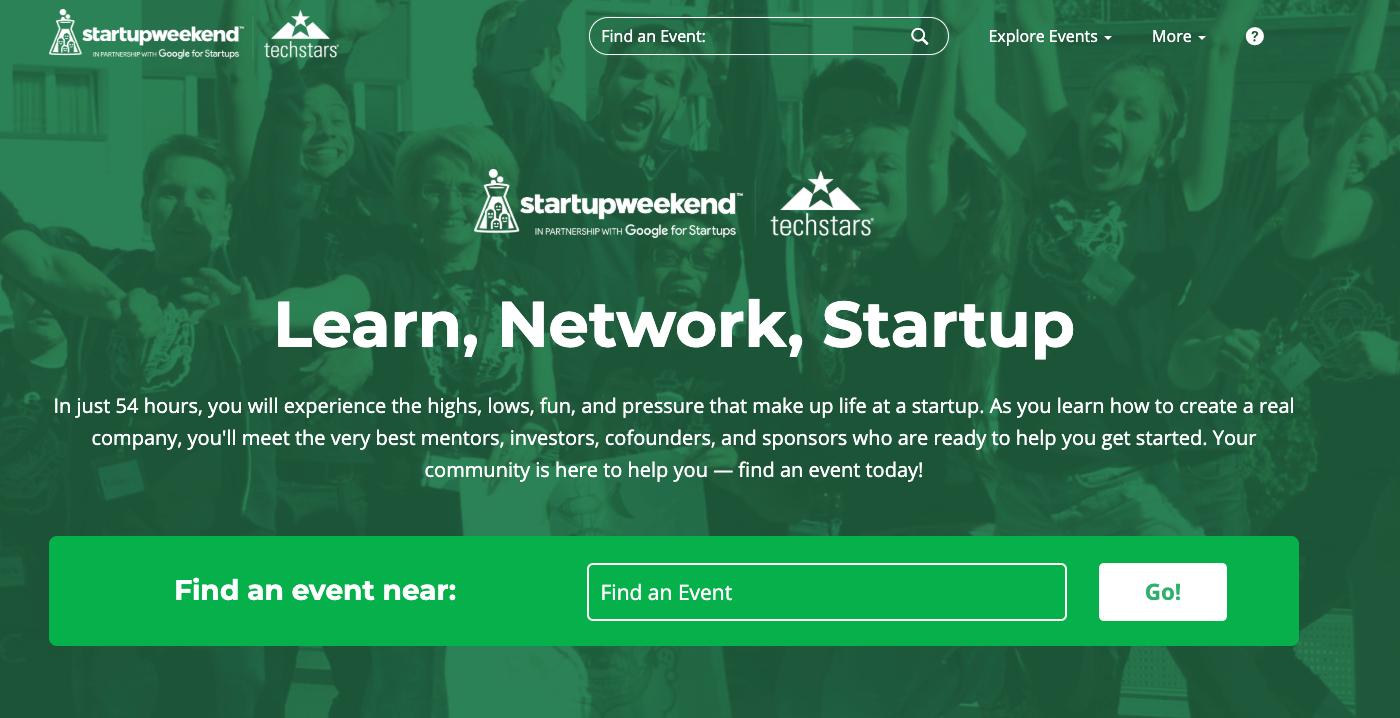 startupweekend finding cofounder