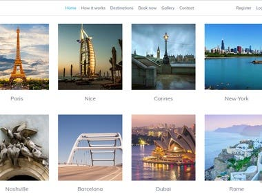 Mazime is developed in PHP, Codeinter Framework for on of our global client. This is program helps users to book Photographer at any particular place.  Thank you