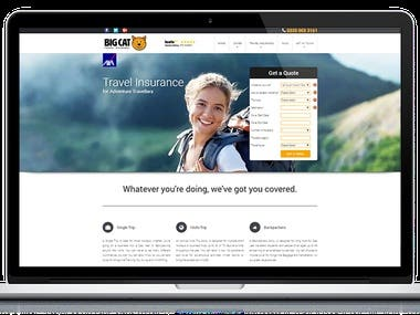 One of the UK's foremost travel insurance agencies invited us to present and code their complete booking system from start to finish.