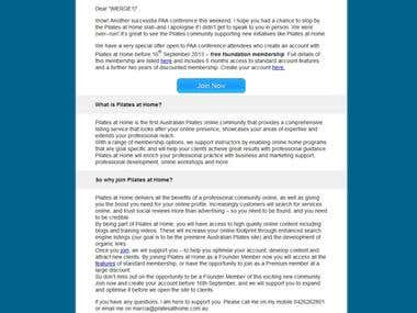 Email template,newsletter design include Mail-chimp support!