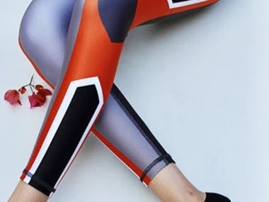 Sports Legging manufacturing with all material as per client requirement in design and color.