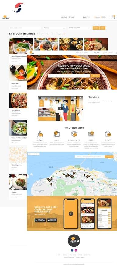 GogoEat: Food Ordering Website