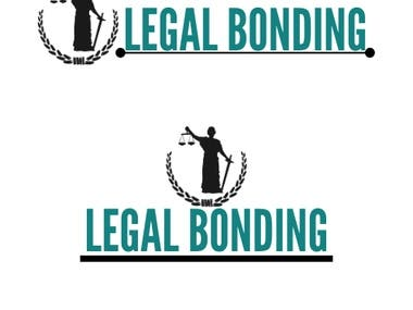 A logo for a firm company, Legal Bonding