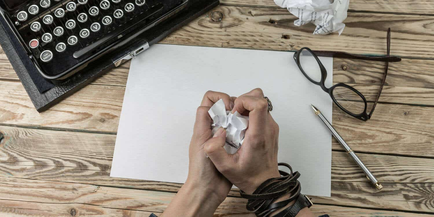 Cover photo for 5 common mistakes writers make