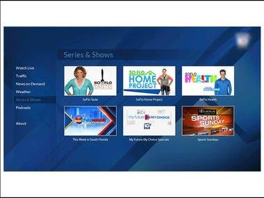 Roku TV Application
