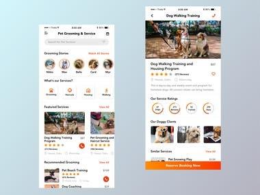 Created the Pet Training App