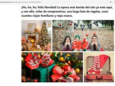 Image search, Photoshop collages construction, and WordPress upload. Check final result https://www.xn--uasacrilicas-9gb.site/nuevo/unas-acrilicas-navidad-2019/