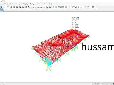 sap is a structural program that i can  make analysis design and getting all straining actions on members  that affects on it  and design all members on Excel sheets that i can deliver the work finally on autocad