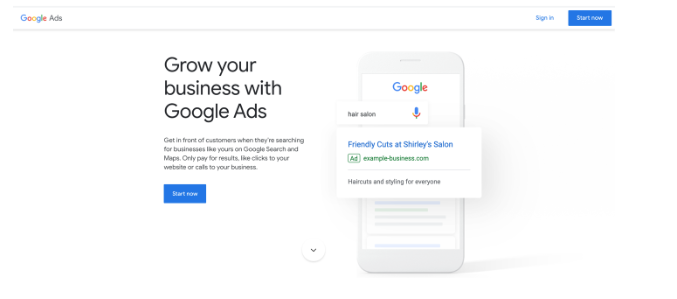google ads manager login