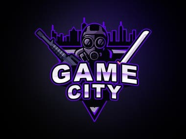I have designed this Logo called game city, the logo i made for the purpose of gaming zone. in accordance of the new generation games like PubG, Dota etc