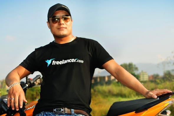 เสื้อยืด Freelancer