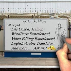 DrRJA - Life Coach, Trainer, WordPress Experienced, Video