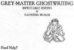 Profile image of ghostwriter